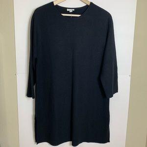 J.Jill Black Sweater Dress